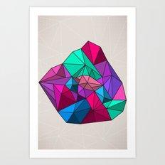 Geographik/Geometrik Art Print
