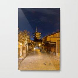 Yasaka-no-to Pagoda Metal Print