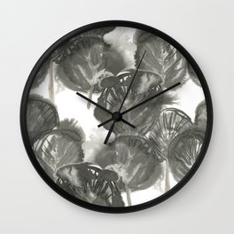 Ink forest Wall Clock
