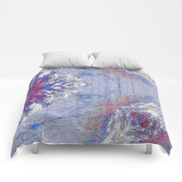 The Wolf (Blue) Comforters