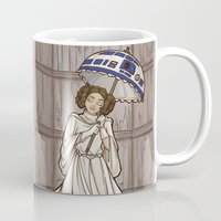 the mortal instruments Mugs featuring Leia's Corruptible Mortal State by Karen Hallion Illustrations