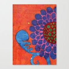 Lori's Flower Canvas Print