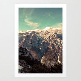 Alpine Magic Art Print
