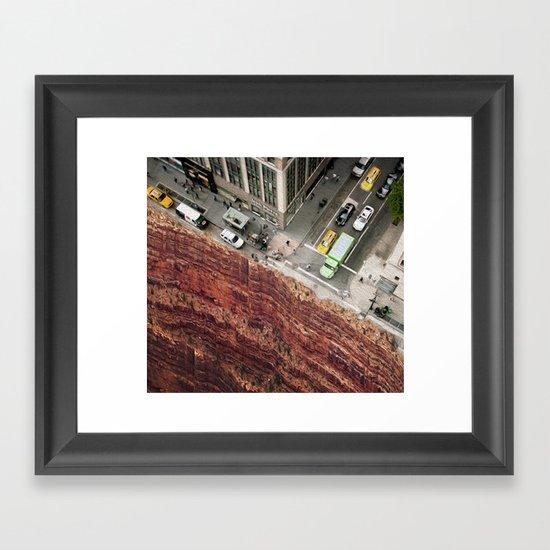Dead End Street Framed Art Print