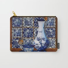 Blue Willow Stillife Carry-All Pouch