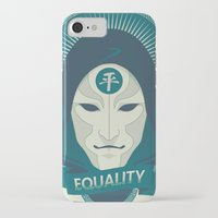 equality iPhone & iPod Cases featuring EQUALITY by Akiwa