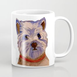 West highland terrier Westie dog love Coffee Mug