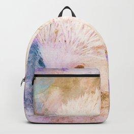 Sweet Champagne Hedgehog Watercolor Effect Backpack