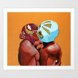 Lucha de Amor Art Print
