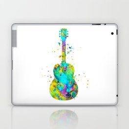 Watercolor Guitar Laptop & iPad Skin