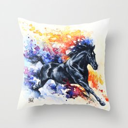 """""""He appears""""  Throw Pillow"""