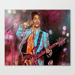 Purple Funk Canvas Print