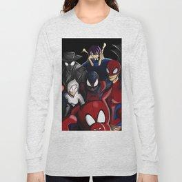 Spider-Snap Long Sleeve T-shirt