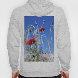 Poppies flower Hoody
