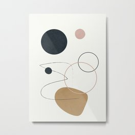Abstract Minimal Art 33 Metal Print