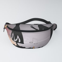 when the music ... Fanny Pack