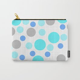 Blue cute dots Carry-All Pouch
