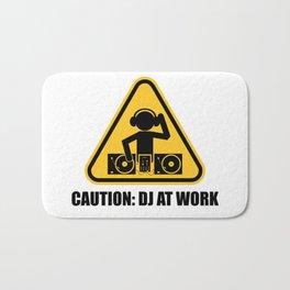 DJ At Work Bath Mat