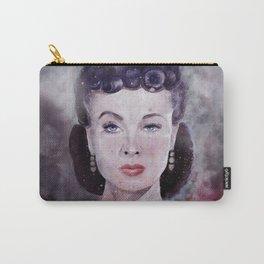 Vivien Leigh as Scarlett O'Hara Watercolor  Carry-All Pouch