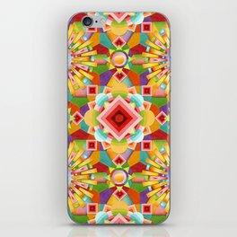 Art Deco Circus iPhone Skin
