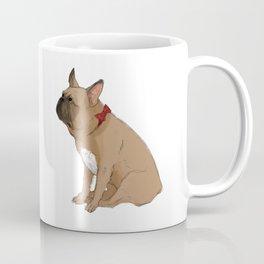 French Bulldog in Red2 Coffee Mug