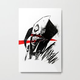 Mr. Munshun by Anna Helena Szymborska Metal Print