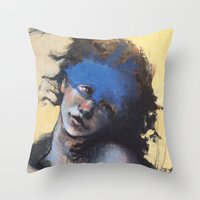 study Throw Pillows featuring Study by CEK-Design