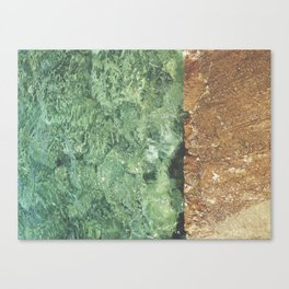 Sea contrast Canvas Print