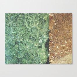 Sea contrast Canvas Print