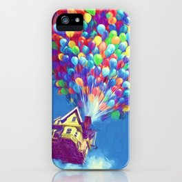 Up Balloons iPhone Case