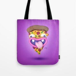 The almighty slice of pizza Tote Bag