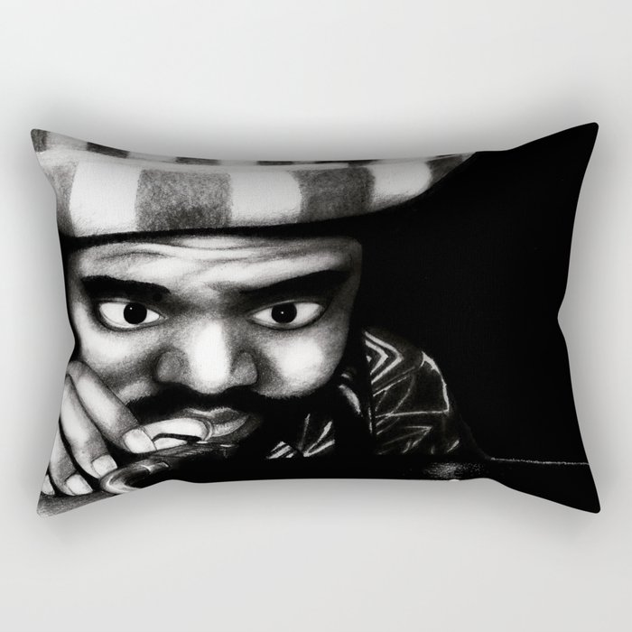 Reggae DJ Rectangular Pillow