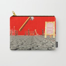 Sqaured: Cultural Policy Carry-All Pouch