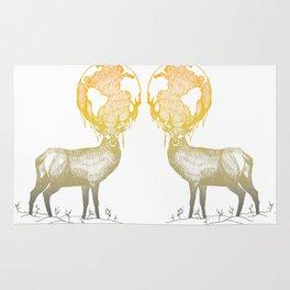Deer God Rug
