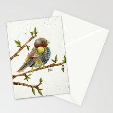 Positivity Bird 2  Stationery Cards
