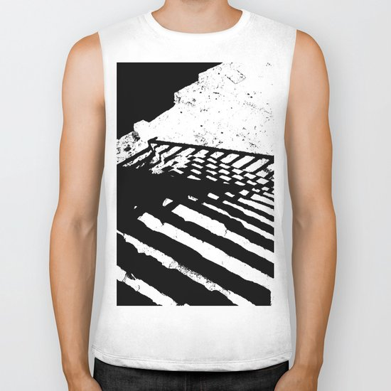 Steps and Shadows Biker Tank