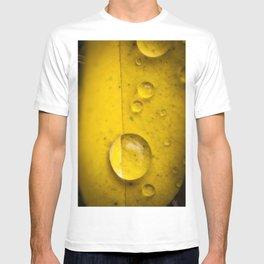 Yellow drop T-shirt