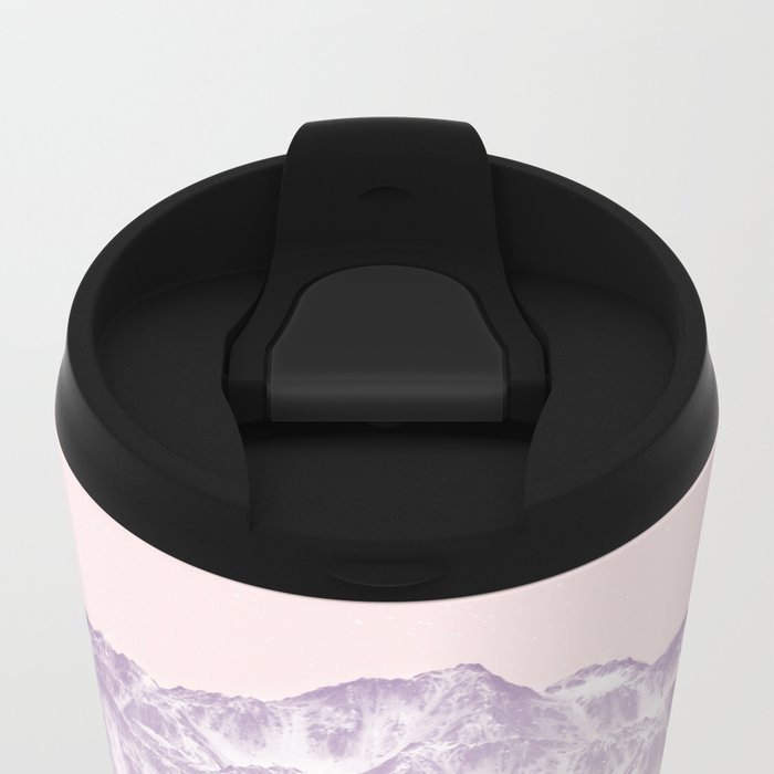 head in the mountains Metal Travel Mug