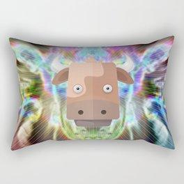 Cow's Aweken Rectangular Pillow