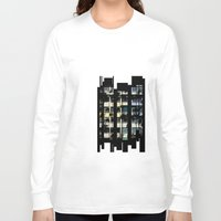 building Long Sleeve T-shirts featuring Building by Mirko Dessureault