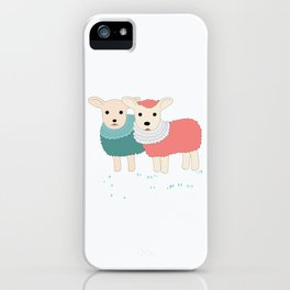 sheep sweet dreams iPhone Case