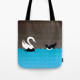 THE RAVEN & THE SWAN Tote Bag