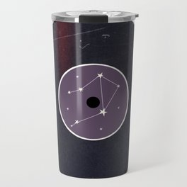 Vinyl Record Star Sign Art | Libra Travel Mug