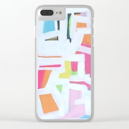 PiLLOWFiGHT Clear iPhone Case