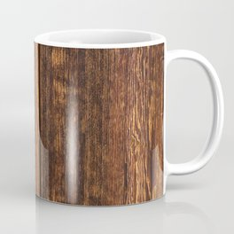 Old wood texture Coffee Mug