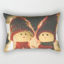 154 - Christmas memories Rectangular Pillow