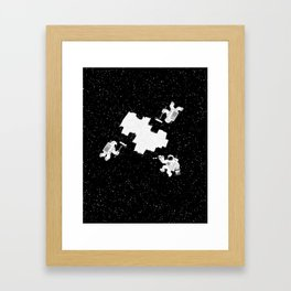 Incomplete Space Framed Art Print