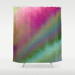 Color Burst - Flower Field Shower Curtain