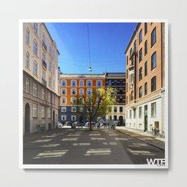 urban nature II, Vesterbro Metal Print