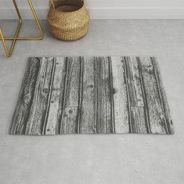 Weathered Wood Wall Rug